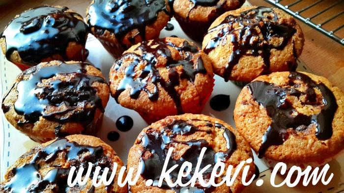 Muzlu Topkek  (Muffin) Damla Çikolatalı – Videolu Tarif